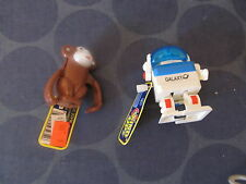 Ja-Ru Wind Up toys lot of 2 Monkey Robot TESTED WORKS NEW WITH TAG