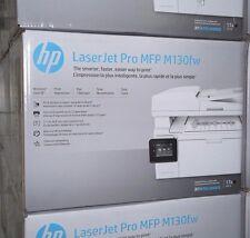 HP LserJet PRO MFP M130FW All-In-One Wireless Laser Printer Copy Scan Fax