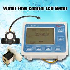 1/2'' Digitale Contalitri flussometro+Sensore di flusso+Elettrovalvola Valvola