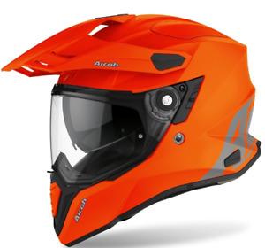 Airoh Casco On/Off Commander Orange Fluo Matt Disponibile in Varie Taglie