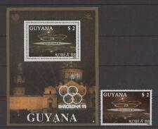 Olympiade 1992, Olympic Games, Sport - Guyana - ** MNH