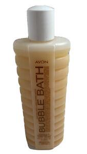 Vintage Avon Bubble Bath NOS Vanilla Cream for Dry Skin 16 ounces New Old Stock