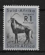 SOUTH AFRICA SG197 1961 1r BLACK & COBALT MNH