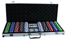B-ware Pokerset Out Of The Blue Alukoffer 5 Würfeln 2 Kartenspielen 500 Chips