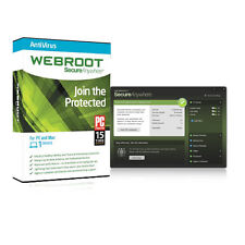 Webroot SecureAnywhere AntiVirus 9 (1PC / 250days+ / Serial / 100% Valid)