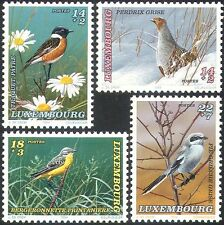 Luxembourg 1994 Welfare Fund/Partridge/Shrike/Wagtail/Birds/Nature 4v set n21182