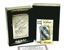 New/Rare Zippo Lighter w/ Box 80Th 80 Th Anniversary 1932-2012 Limited Edition