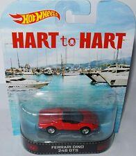 Retro Entertainment FERRARI DINO 246 GTS * HART TO HART * 1:64 Hot Wheels