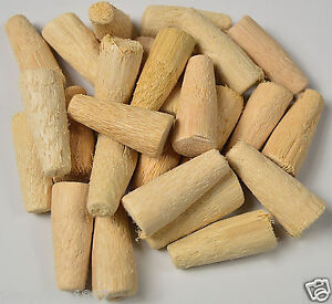"""SOFT PEGS CANE POROUS SPILES PEGS QTY 25, 1.5"""" 38mm cask beer real ale home brew"""