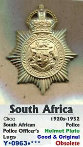 HP Badge •  South Africa • South African Pol' • 1920-1952 • Y•0963•