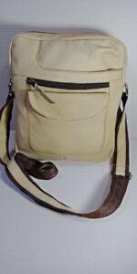 Leather Messenger Bag With Adjustable Strap