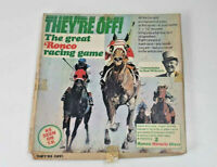 """They're Off the great ronco racing game 1975 12"""" vinyl vintage racing game"""