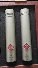 Neumann KM 184 microfono stereo impostato in condizione di nichel Immacolata