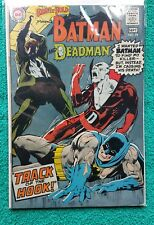 BRAVE AND THE BOLD #79 BATMAN AND DEADMAN ORIGIN 1ST NEAL ADAMS 1968 KEY RARE!