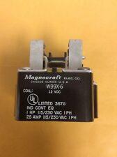***NEW*** Magnecraft Relay W99X-6, 12 VDC, 1HP