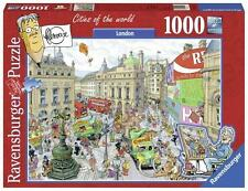 RAVENSBURGER JIGSAW PUZZLE CITIES OF THE WORLD LONDON BY FLEROUX 1000 PCS #19213