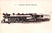 CPA THEME TRAIN CANADIAN NATIONAL RAILWAYS
