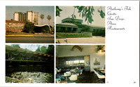 Vintage 1960s Anthony's Fish Grotto San Diego Restaurants California CA Postcard