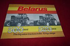 Belarus 500 520 Tractor Dealer's Brochure YABE7