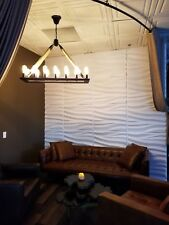 3D Wall Panels for modern wall decor. Pack of 12 white tiles (64 sq.ft) Model#71