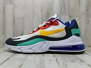 Nike Air Max 270 React Bauhaus AO4971 002 Multi Color basketball Shoes Size 14