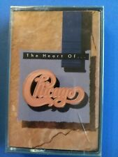 "CHICAGO ""THE HEART OF CHICAGO"" MC K7 TAPE 1989 WEA RECORDS SINGAPORE SEALED"
