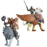 ORIGINAL Jakkspacific Warcraft Figur Set Lothar Blackhand Frostwolf Greif