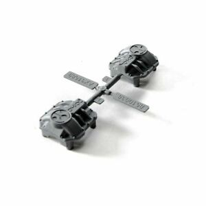Axial AXI31641 AR44 Differential Covers (Silver)