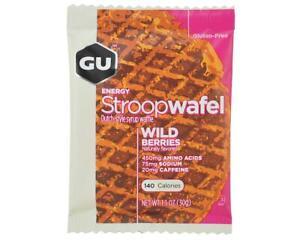GU Energy Stroopwafel (Wild Berries) (16) [124202]