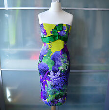 Karen Millen strapless corset bodycon wiggle dress ~ UK 12 ~ EU 40