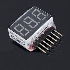 2.8V-25.2V 1S-6S Lipo Battery Voltage Detection Digital Tube Led Display Module