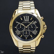 Michael Kors MK5739 Bradshaw Damenuhr Chronograph Edelstahl Farbe: Gelbgold