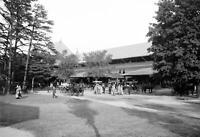 "1900-1915 Entrance to Race Track, Saratoga Vintage Photograph 13"" x 19"" Reprint"