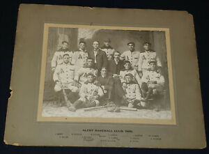 "1906 - ""ALERT"" BASEBALL CLUB - LARGE - CABINET - TEAM - PHOTO - ORIGINAL"