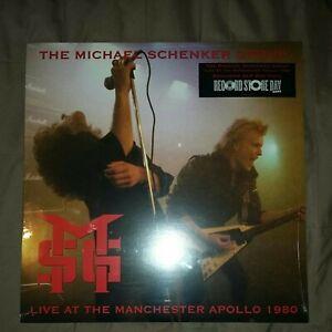 MICHAEL SCHENKER GROUP - Live In Manchester 1980 -  2 x VINYL LP RSD 2021