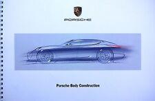 Porsche Body Construction, brochure