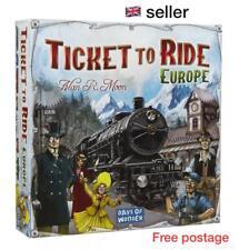 Ticket To Ride EUROPE Board Game Days of Wonder 2-5 Player Train Adventure P&P