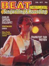 Beat Instrumental Magazine February 1977 Carlos Santana