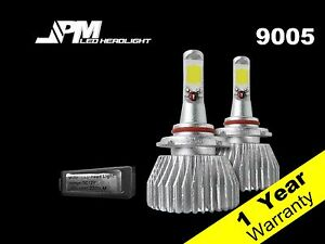 30W 9005 LED High Beam  Bulb 6500K White High Power for Suzuki 04-06 Verona