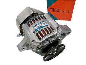 NEW GENUINE Kubota Alternator 12V, Generator, Dynamo 101211-1031