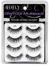 (1) Ardell Glamour Lashes Multipack, 105 Black