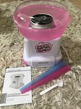 NEW Nostalgia Retro Hard Candy Cotton Candy Maker Pink & White