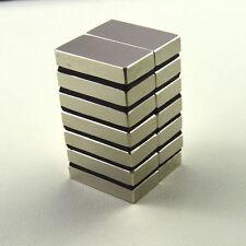 10Pcs N52 Super Strong Block Rare Earth 50x20x10mm Neodymium Fridge Magnets