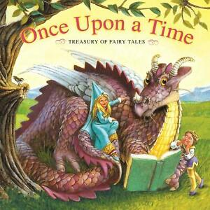 Once Upon a Time Treasury of Fairy Tales - Hardcover - GOOD