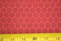 By 1/2 Yd, Black on Red Quilting Cotton, Windham/Alexsandra/Mary Koval, M8098