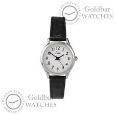 Relojes de pulsera Clásico de plata de cuero