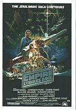 STAR WARS EMPIRE STRIKES BACK WIDEVISION MINI-POSTER CARD #4