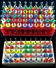 """100 Piece / 50 Size Solid Carbide Drill Bit Set ->  .0135"""" - .189""""  cnc  D8 RS"""