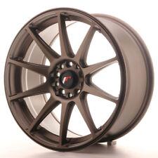 Japan Racing JR11 Alloy Wheel 18x8.5 - 4x100 / 4x114.3 - ET35 - Dark Bronze