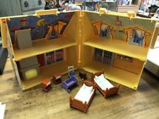 PLAYMOBIL #5763 TAKE ALONG DOLL HOUSE with FURNITURE